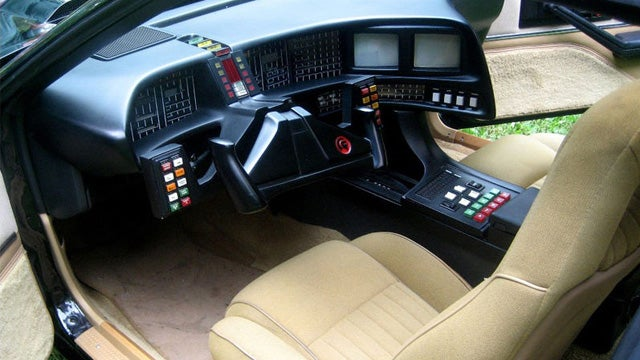 "Original K.I.T.T. from ""Knight Rider"" goes up for auction"
