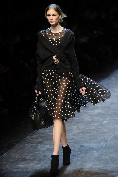 Do The Retro No-Pants Dance At Dolce & Gabbana