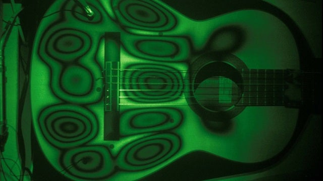 Lasers reveal exactly how guitars create music