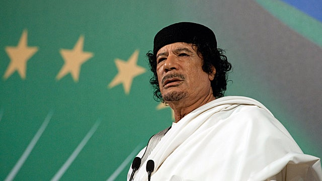 Muammar Qaddafi Is a Fugitive Now