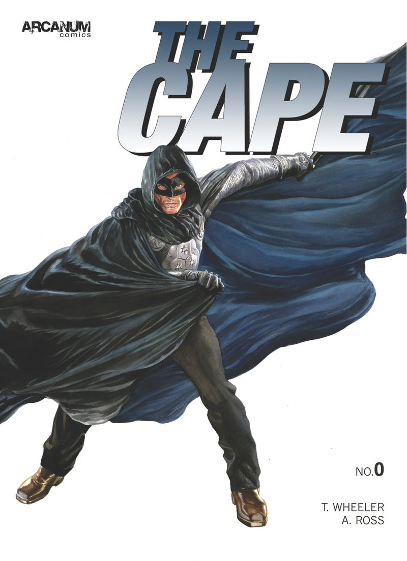 First look at Alex Ross' cover for the comic book of NBC's The Cape