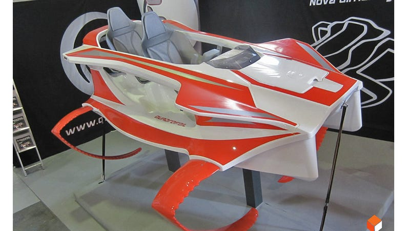 This Electric Hydrofoil Looks Straight Out Of James Bond's Arsenal