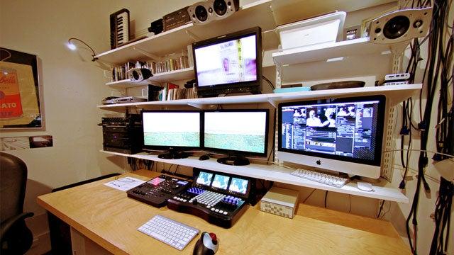 A Studio on a Shelf: A Compact Video Workstation