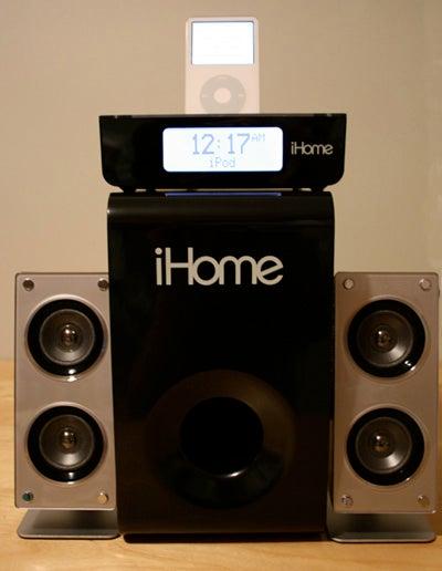 iPod Dock Bracket, iLive Studio vs. iHome iH52