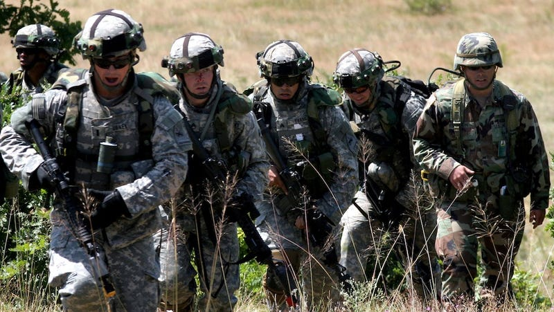 The US Army Is Outfitting Soldiers With Blast Sensors