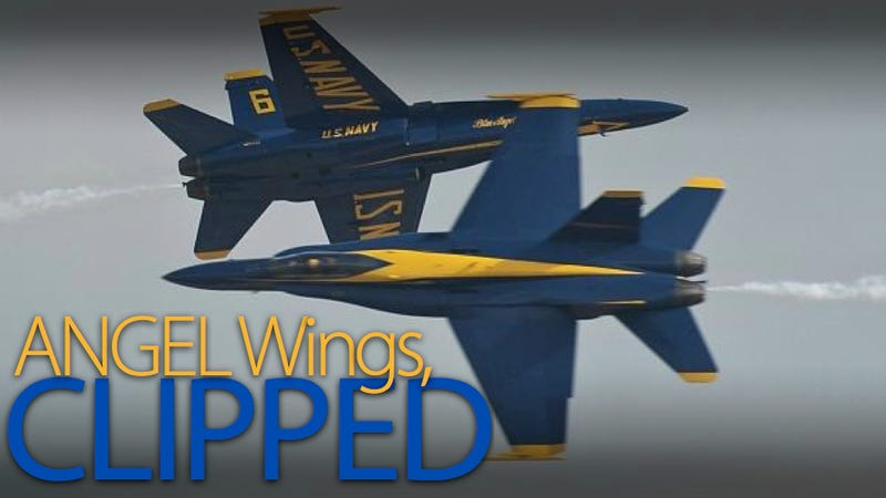 Blue Angels Commanding Officer Steps Down for Flying Too Aggressively