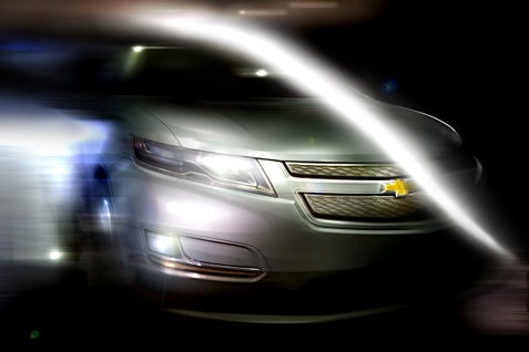 Chevy Volt Production Image Breaks