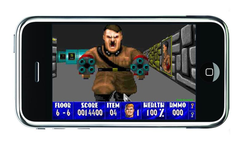 Wolfenstein Released For iPhone, Doom Coming As Well [UPDATE]