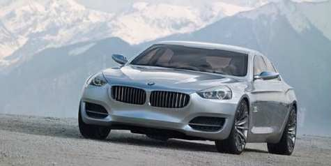Exec Says, BMW to Launch Car Based on CS Concept