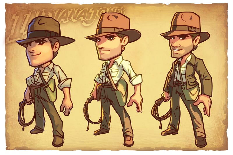 The New, Official Indiana Jones Prequel isn't a Movie. It's a Zynga Facebook Game.