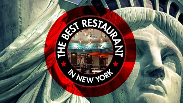 The Best Restaurant in New York Is: The Statue of Liberty's Crown Café