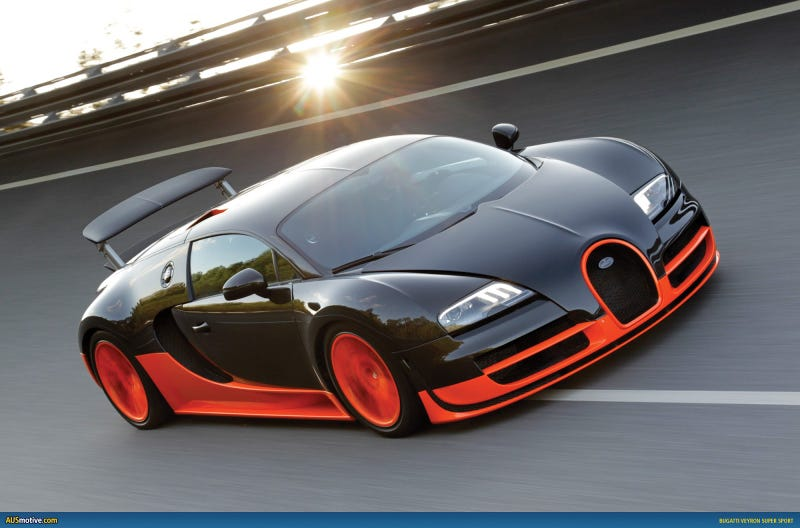 Do Certain Color Combos Make or Break a Veyron?