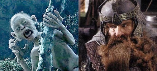 Gimli And Gollum Voice Risen