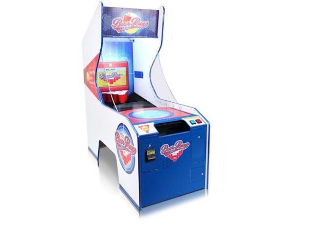 There Is Such Thing As a Beer Pong Arcade Game