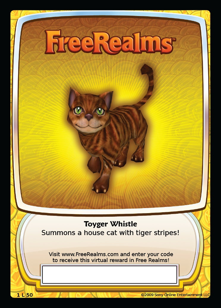 Free Realms Cards Dealt To Stores This Week