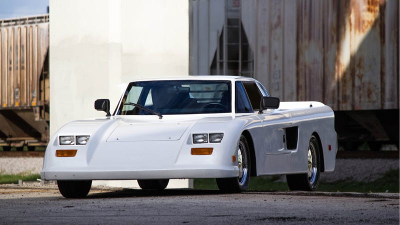 Now You, Too, Can Own One Of The Weirdest Vanity Cars Ever Made