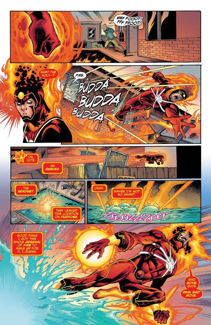 Read an exclusive 4-page preview of DC Comics' The Fury of Firestorm!