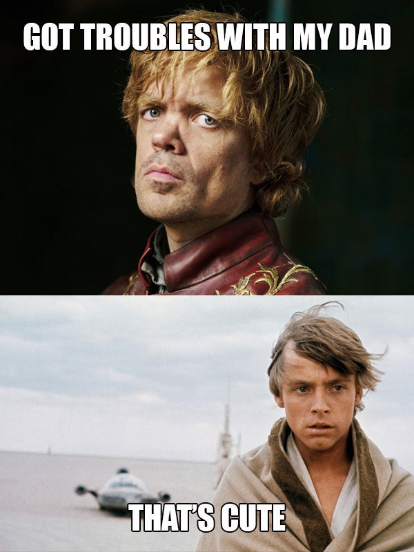 Oh, Star Wars, Your Problems Are Nothing Next To Game Of Thrones