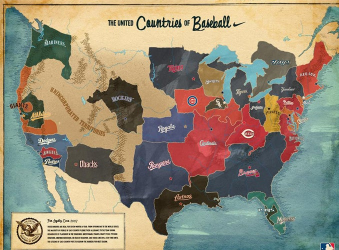 A Little Baseball Fanbase Redistricting