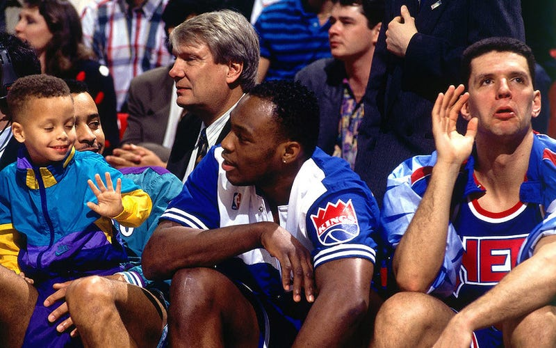 Stephen Curry Had Don Nelson's Attention When These Haircuts Were En Vogue