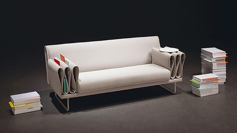 The Tri-Folds Sofa Gives You Plenty of Places to Stash the Remote