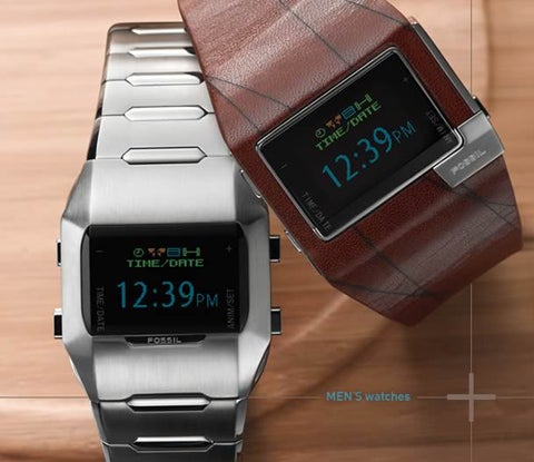 Fossil OLED Watches Tell Time, Impersonate Better Gadgets