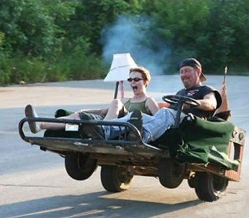 Minnesota Man Gets DUI On Motorized La-Z-Boy