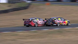 "Some of that good ol' Aussie ""Nascar"""