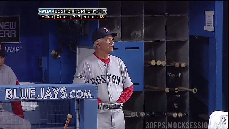 Bobby Valentine Fell Off His Bicycle Into A Waterlogged Ditch
