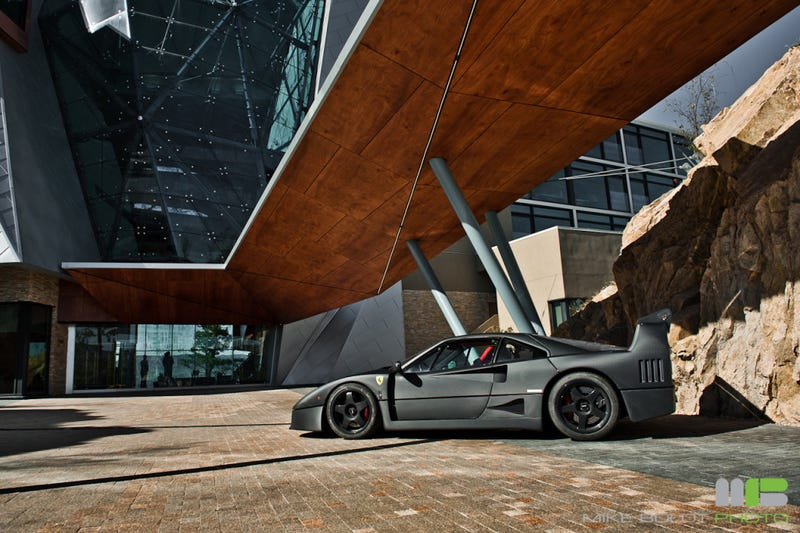 Who Wraps A Ferrari F40 In Vinyl?