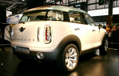 Mini Reveals Crossover Concept In Paris, Declines To Go Off-Roading