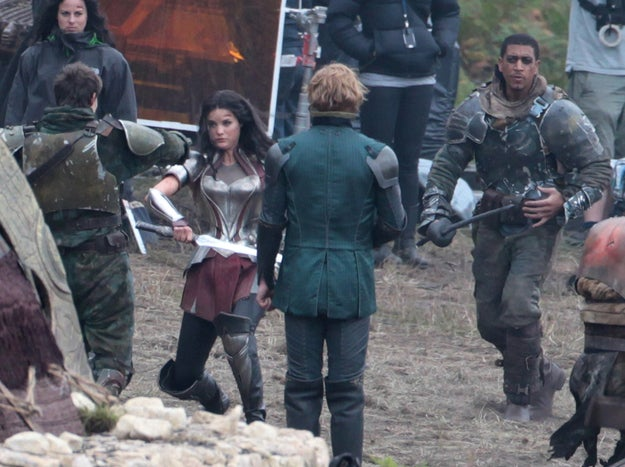 Thor: The Dark World - Set Photos