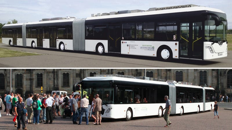 The World's Longest Bus Is A Traffic Nightmare Waiting To Happen