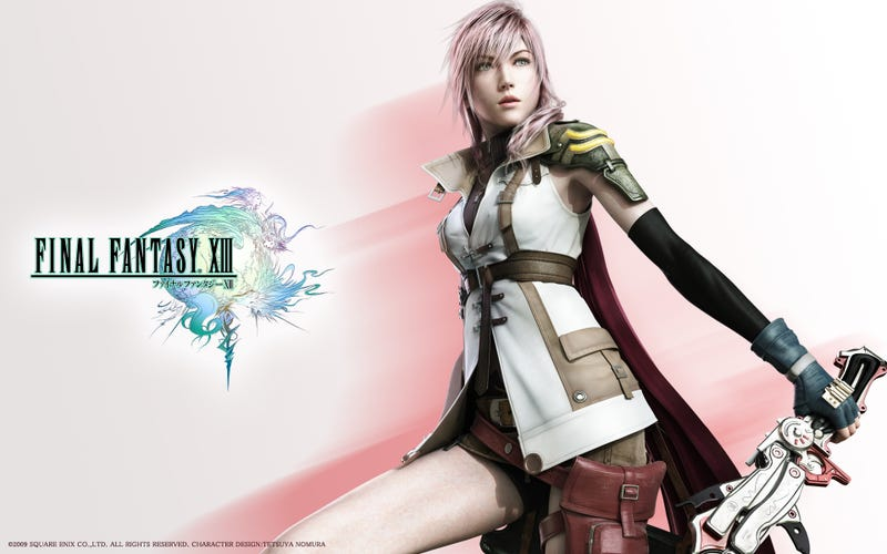 Late to the Game: FFXIII...First Impressions
