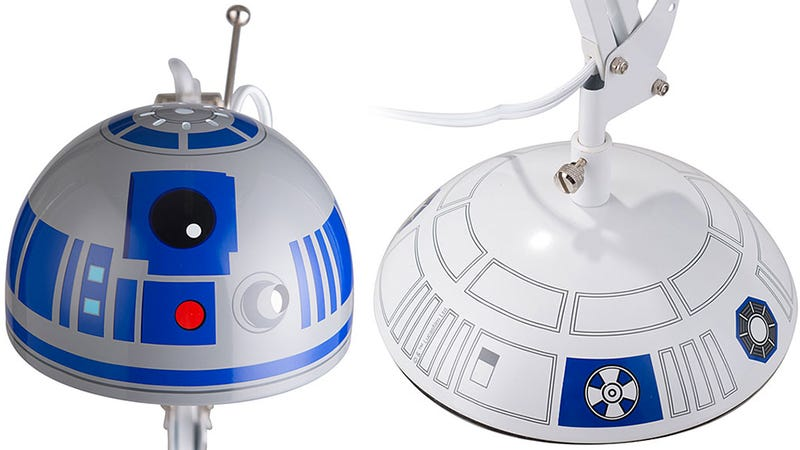 This Lamp Is the Offspring of R2-D2 and Pixar's Luxo Jr.
