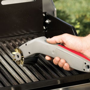 Motorized Grill Brush is For the Lazy Grillers