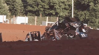 This Racetrack Has No Guardrails, And Other Sprint Car Eye-Openers