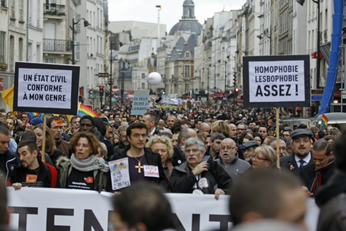 French Move Closer to Same-Sex Marriage