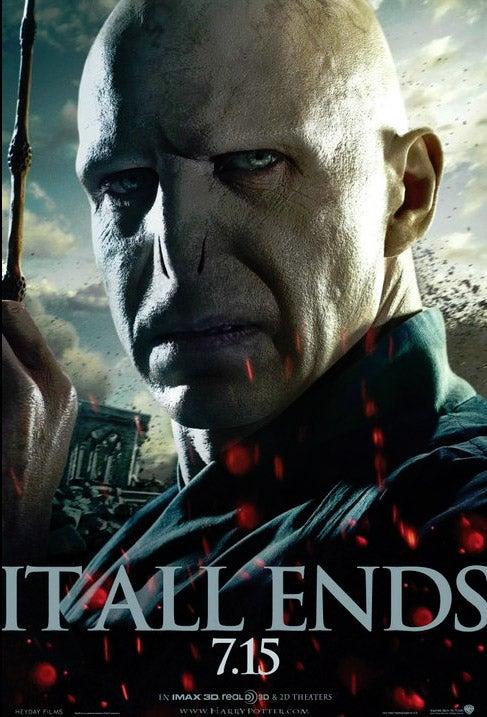 Harry Potter 7 Voldemort poster