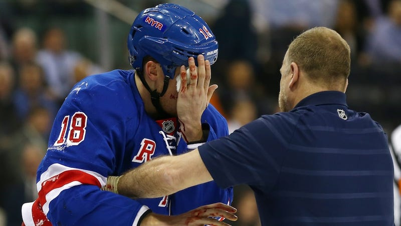 Will The NHL Mandate Visors Before Someone Loses An Eye And A Career?
