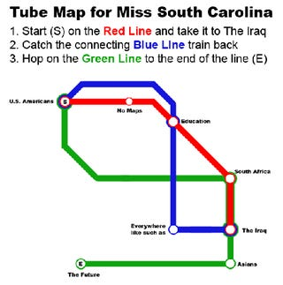 Miss Teen South Carolina Has Discovered The Map To Our Hearts