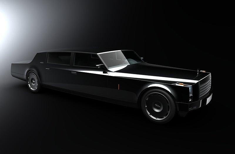 New Russian Limousine ZIL