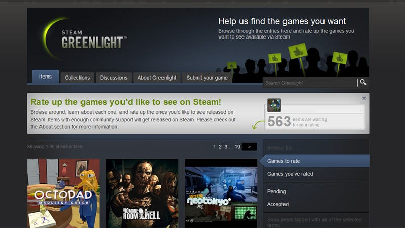 Steam Greenlight Is A Good Idea, But Makes Its Buried Treasures Very Hard To Find