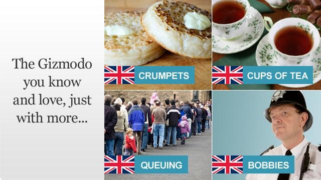 Hello UK Readers: Meet Gizmodo UK