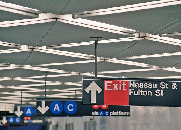 Inside NYC's Dazzling New $1.4 Billion Subway Station