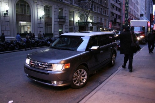 2009 Ford Flex Scores Five Stars For Frontal- And Side-Impacts