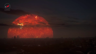 How It Would Look If Other Types Of Stars Were Close As The Sun