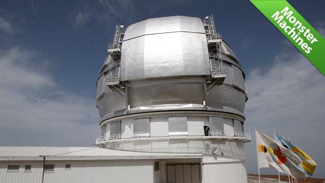 The Gran Telescopio Canarias Could Spot a Car's Headlights in Australia. From Spain.
