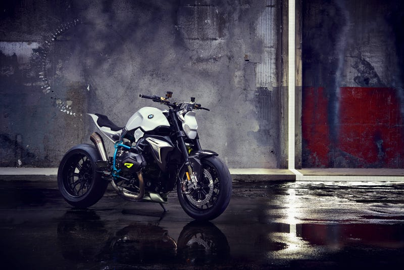 The BMW Concept Roadster Looks Like An i8 Motorcycle