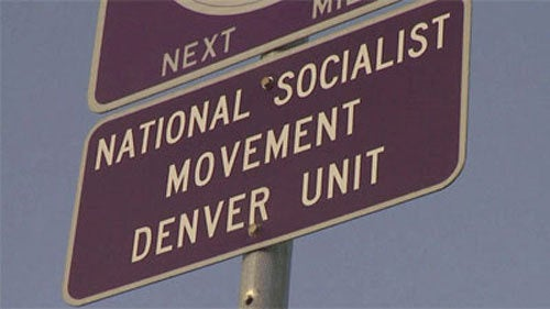 Green Power! Colorado Nazis Adopt A Highway